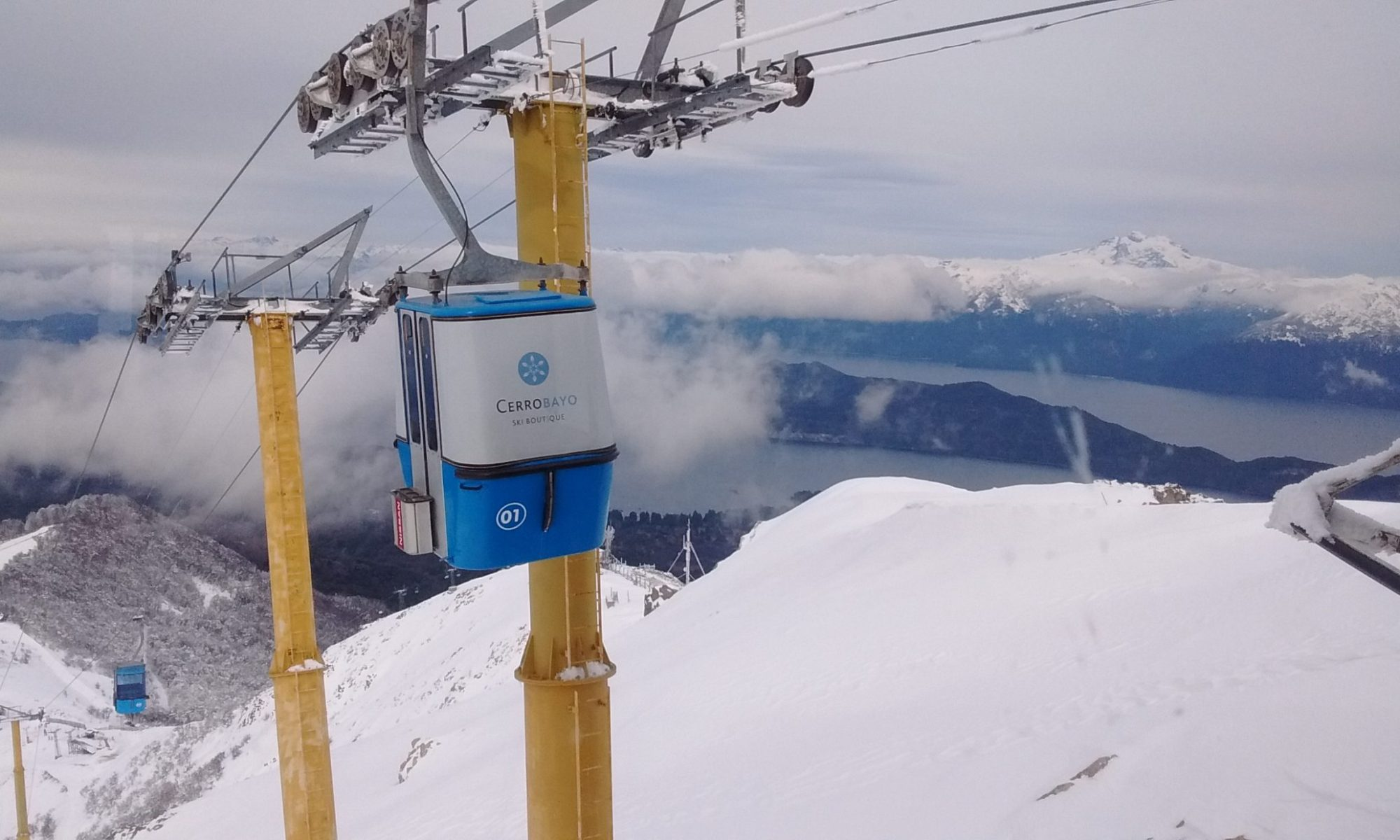 Cerro Bayo gondola - Photo courtesy of Roberto Thostrup- Cerro Bayo. Cerro Bayo to create a new chairlift departure at 1400 meters.