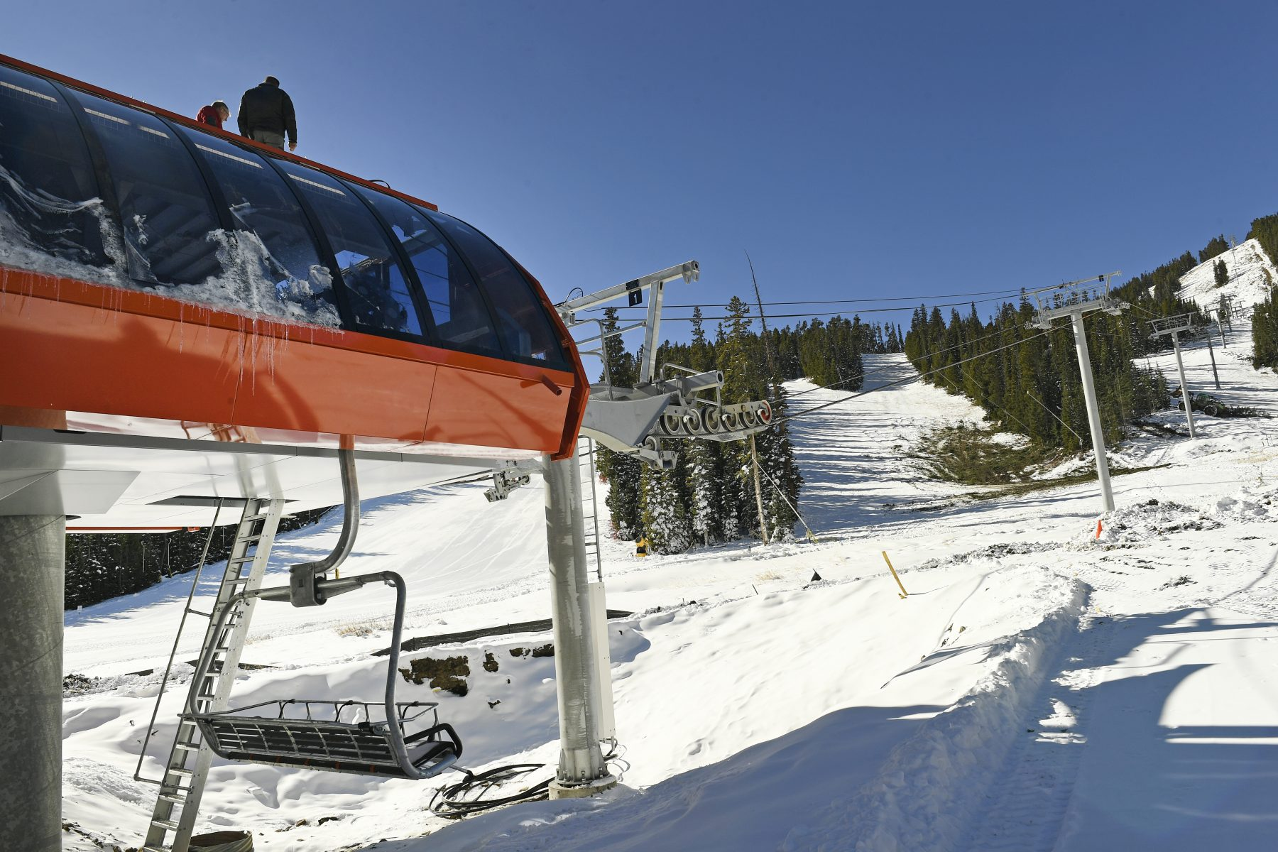 Eldora Mountain Resort. Photo Denver Post. Forest Service grants Eldora ski resort's expansion request.