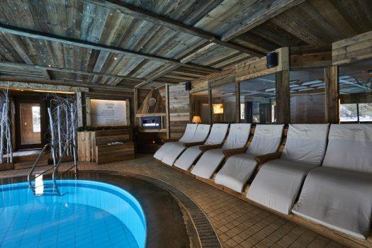 The spa at the Gran Baita. Spot on: Gran Baita Hotel – Courmayeur.