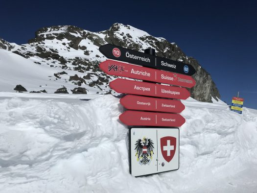 The 'smugglers' route' to Samnaun is a classic run to go and get some goodies without taxes and trying to 'smuggle' them back to Ischgl. Photo: TVB Paznaun-Ischgl. Ischgl rocked with Lenny Kravitz for their season finale.