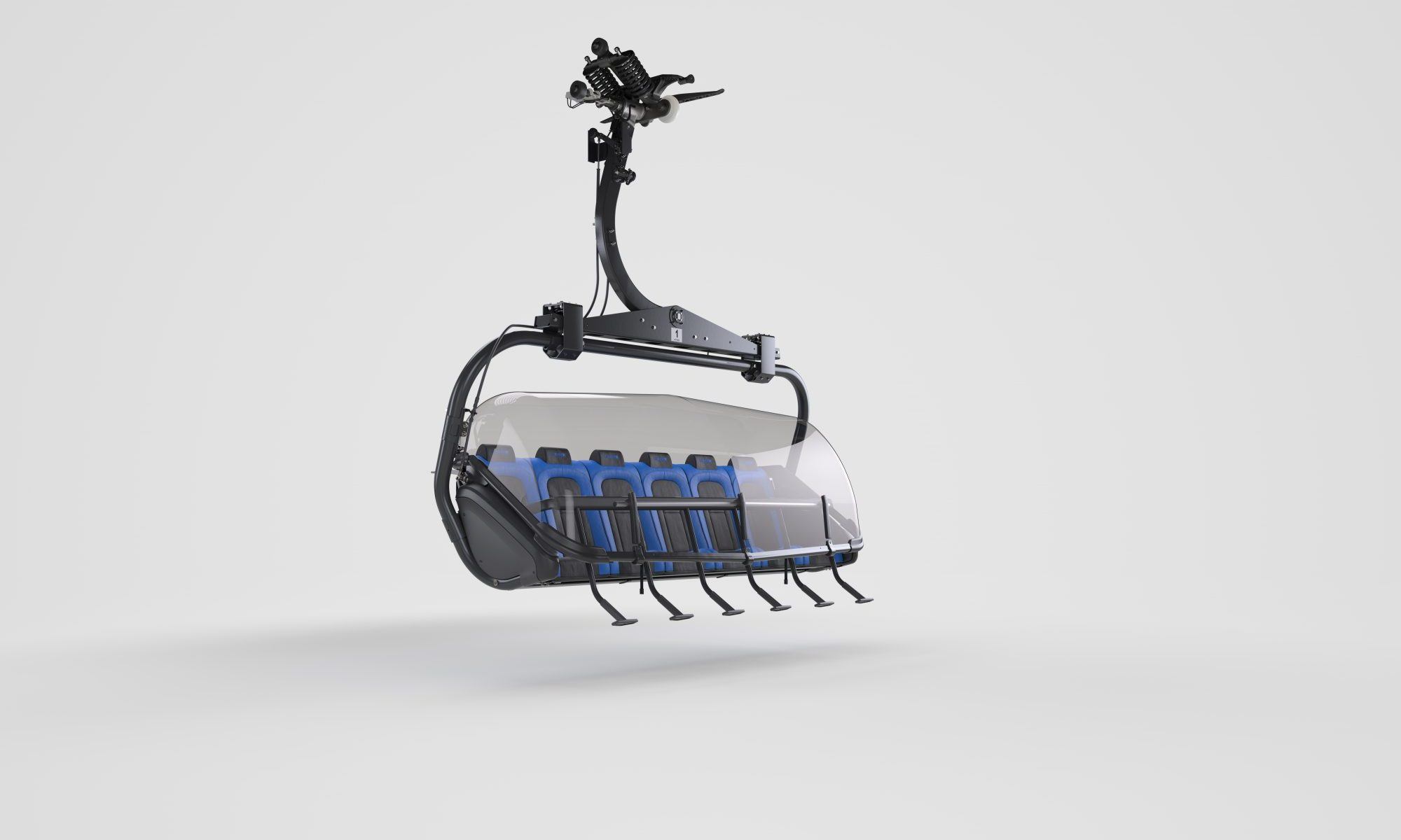 Leitner Premium EVO: The chair evolution continues. Photo: Leitner Ropeways.