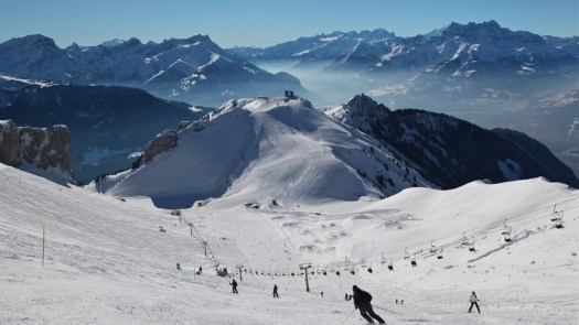 Leysin, part of the Magic Pass. The Magic Pass has unveiled its offer for 2019-20. Photo: Leysin.