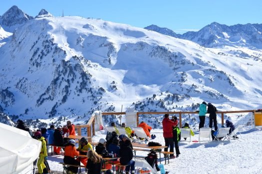 Photo: Baqueira Beret. Baqueira Beret has closed its third best season in the decade.