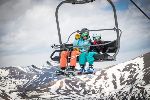 Solstice Skiing at Arapahoe Basin. Photo: Arapahoe Basin Resort. How can we envision ski resorts opening with social distancing for the 2020-21 ski season?