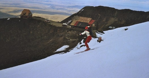 Chacaltaya Ski Resort is not Operating due to the Retreat of a 18,000-year-old glacier.