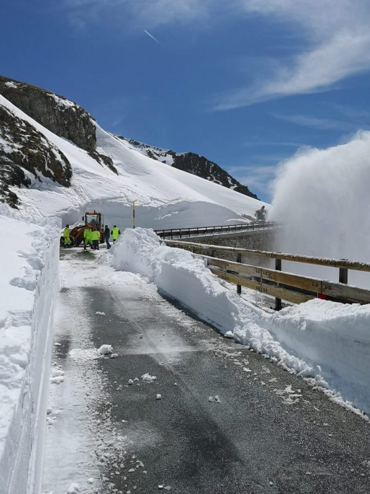 The Gran San Bernardo pass has reopened. Photo: AostaSera.