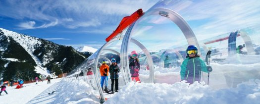 Pal Arinsal's one of its covered magic carpets. Photo: Pal Arinsal. Pal Arinsal will invest 3 million euros in improvements for the 2019-20 season.