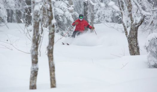 Vermont snow this season. Photo: SkiVermont.com - Over 4 million skier visits for Vermont.