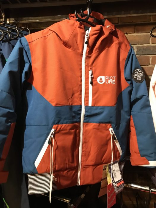 Slope jacket. Picture Ski Clothing for Kids – Grows with them!