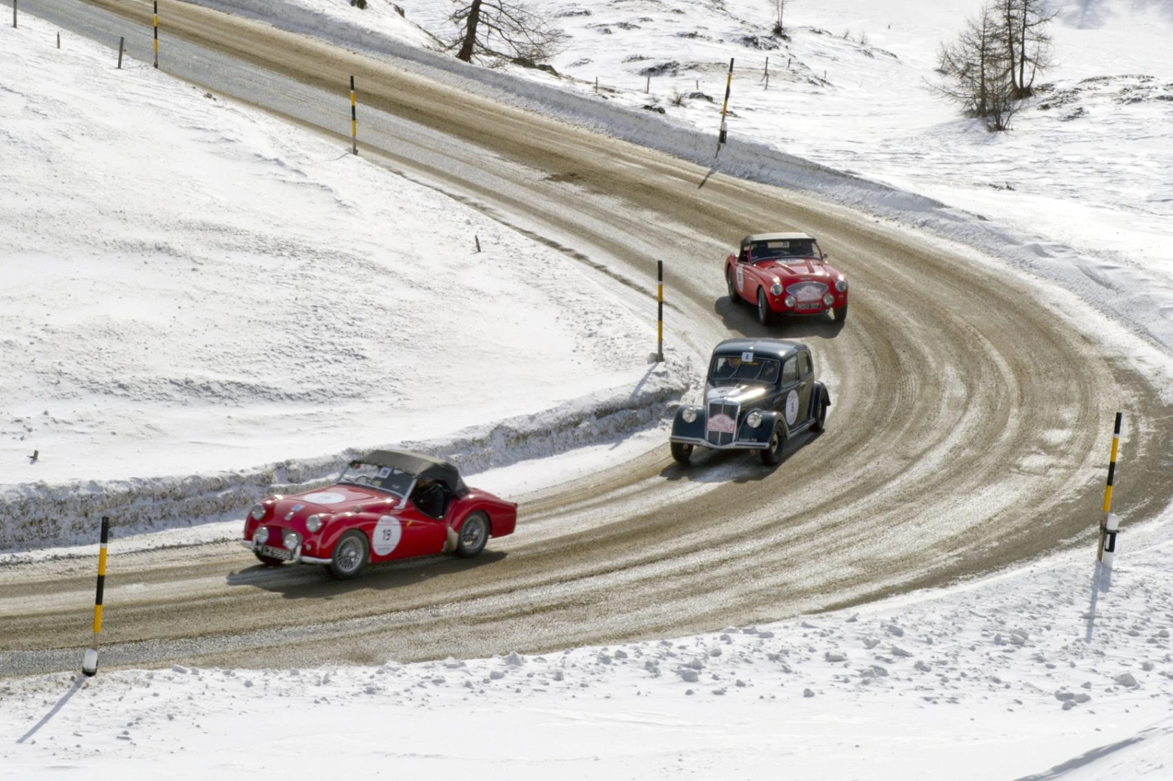 The Mille Miglia is coming to the Alps- Coppa delle Alpi. Photo: Coppa delle Alpi.