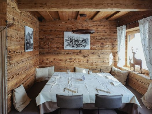 Chalet Tofane in Cortina. Where to eat in Cortina d'Ampezzo.