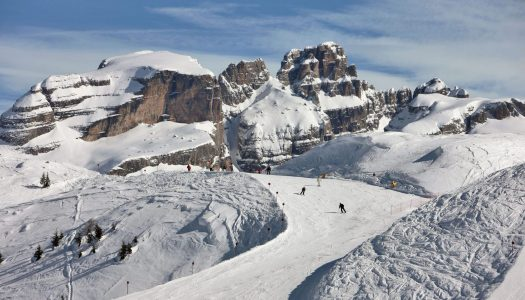 A piste in Madonna di Campiglio. Photo: A. Trovati. The Ski Area Campiglio Dolomiti di Brenta is opening its 2019/20 ski season. News of the resort.