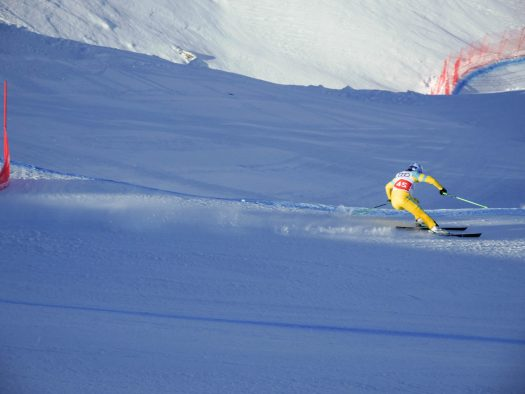 Ski Cross World Cup. Photo: C. Ducruet. OT Val Thorens. Val Thorens hosts the first stage of the World Cup Ski Cross.