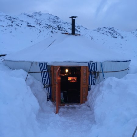 Chalet de la Marine Yourte at Val Thorens. Where to Eat. Val Thorens hosts the first stage of the World Cup Ski Cross.