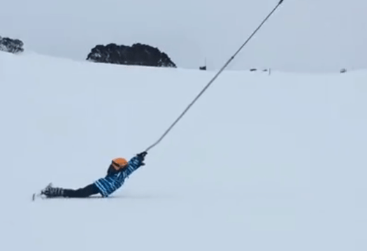 This is how you are NOT supposed to ride the Poma lift. Different types of lifts on resorts (I can think of) and how to ride them.