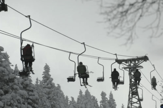 Single chairlift. Different types of lifts on resorts (I can think of) and how to ride them.