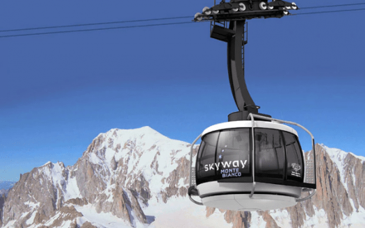 The Skyway Monte Bianco- a bucket -must-ride- lift. Different types of lifts on resorts (I can think of) and how to ride them.
