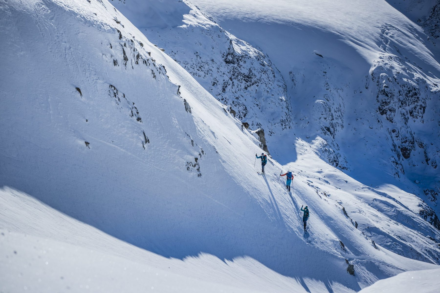 Photo: Credit- Ortovox. Henry's Avalanche Talk. Off-Piste snow report for December 13, 2019 for the Northern French alps.