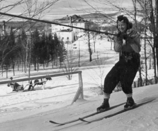 Rope Tow- Warren Miller Media. Different types of lifts on resorts (I can think of) and how to ride them.