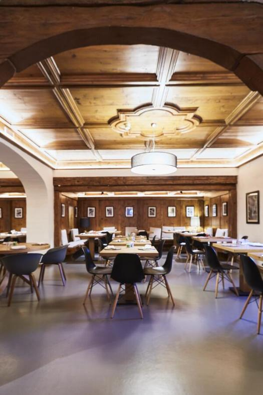 Dining room at the Hotel Europa. Book your stay at the Hotel Europa here. Cortina, an example of resilience in the tourism sector .