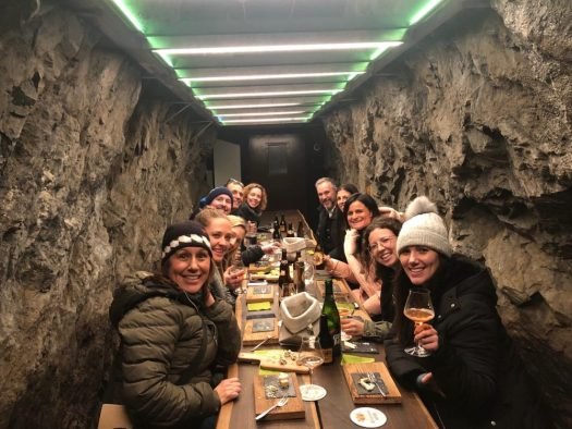 I had the luck to try these cheeses and beers with a fam a couple of winters ago. Still take a jacket, as it is always 10C inside. Photo: The-Ski-Guru. A Must-Read Guide to Summer in South Tyrol