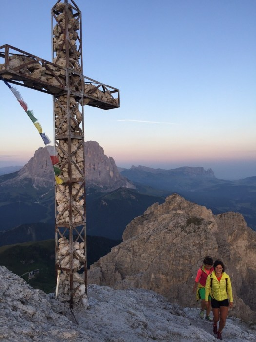 Via Ferrata Cir at Sunset. Photo: Claudia Rier. IDM Sudtirol. A Must-Read Guide to Summer in South Tyrol.