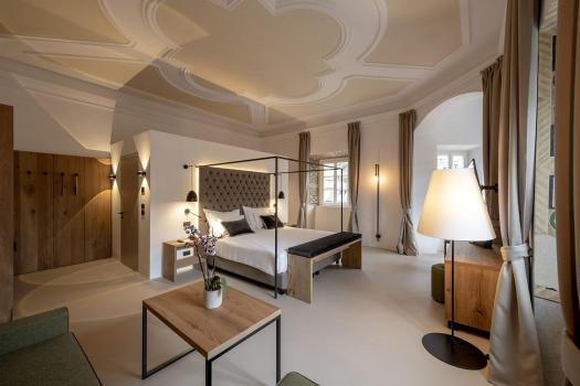A grand room at the Castel Hörtenberg. Book your stay at the Castel Hörtenberg here. A Must-Read Guide to Summer in South Tyrol.