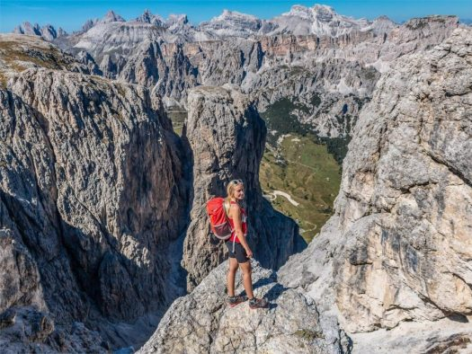 Via Ferrata Alpina Tridentina. Photo by Jan Andre Soraru. A Must-Read Guide to Summer in South Tyrol.