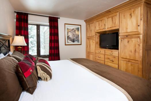 A room in a condominium at the Gant. Book your stay at the Gant here. Aspen Snowmass is opening for the Summer Season.