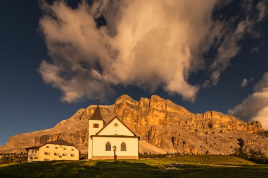 Santa Croce. Photo by Paola Finali. Alta Badia Tourism Office. Planning your summer in the mountains of Alta Badia.