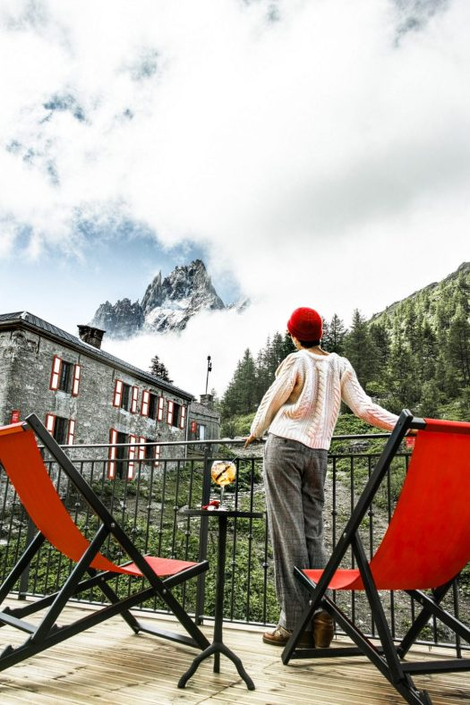 Restaurant Refuge de Montenvers. Sibuet. Photo Sophie Molesti. David Andre. The Must-Read Guide to Chamonix.