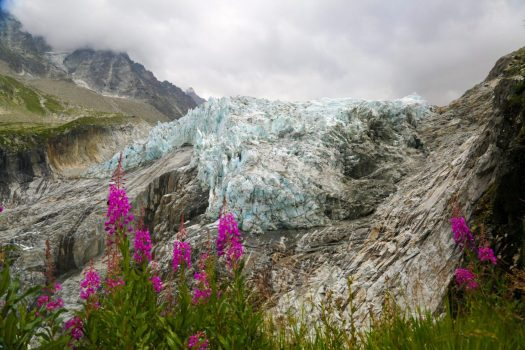 Summer at the Arrgentière Glacier. Photo: Salome Abrial- OT Vallèe de Chamonix. Must-Read Guide to Chamonix.