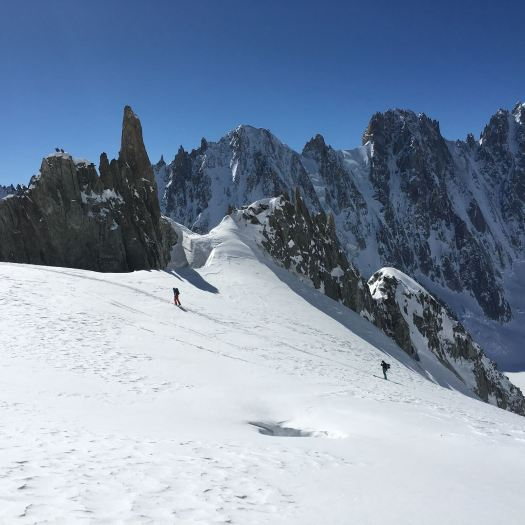 Ski de Randonée. Photo: Christophe Raylat. OT Chamonix. Must-Read Guide to Chamonix.