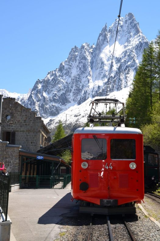 Train du Montevers, that takes you to the Refuge de Montenvers. A must-do for your bucket list! The Must-Read Guide to Chamonix.