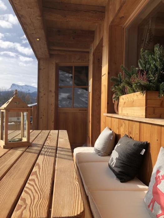 Terrace at Ciasa Coletin. Book your stay at Ciasa Coletin here. Cortina Dolomiti Ultra Trekking.