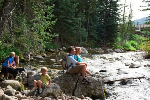 Enjoying the summer in vail. Photo: Jack Affleck. Vail Resorts. The Must-Read Guide to Vail.