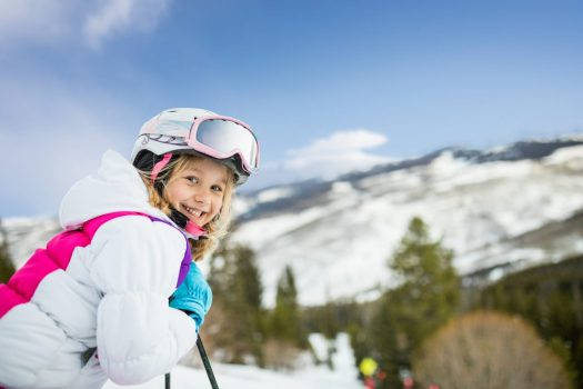 Family enjoys a day skiing on the mountain in Vail, CO. Photo: Craig Orsini. Vail Resorts. The Must-Read Guide to Vail.