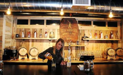 10th Mountain Whiskey in Vail. Must-Read Guide to Vail.