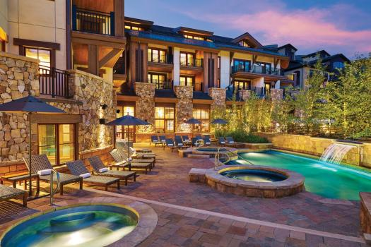 Outside pools at the Sebastian. The Must-Read Guide to Vail. Book your stay at the Sebastian here.
