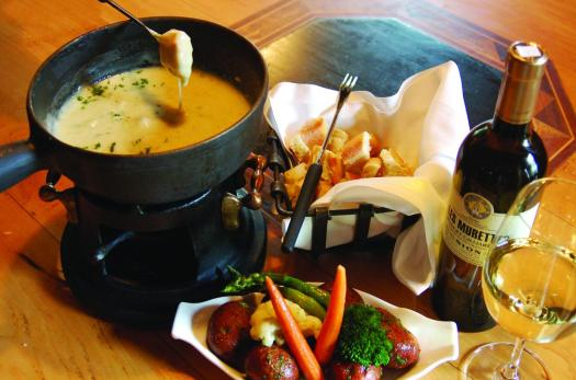 The fondue at the Sonnenalp, not to be missed! The Must-Read Guide to Vail.
