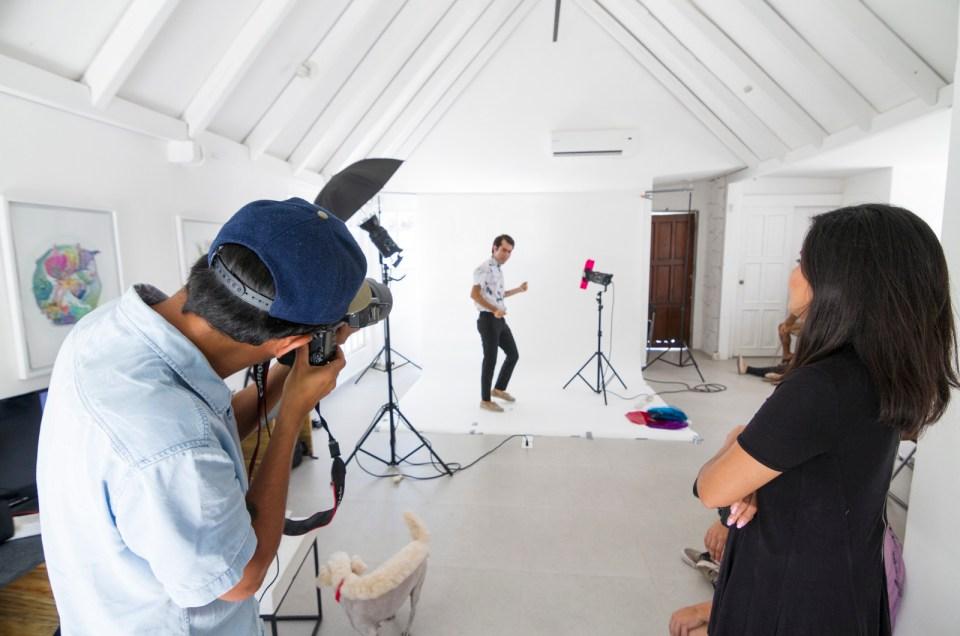 Workshop de Retrato Editorial impartido por Paco Díaz