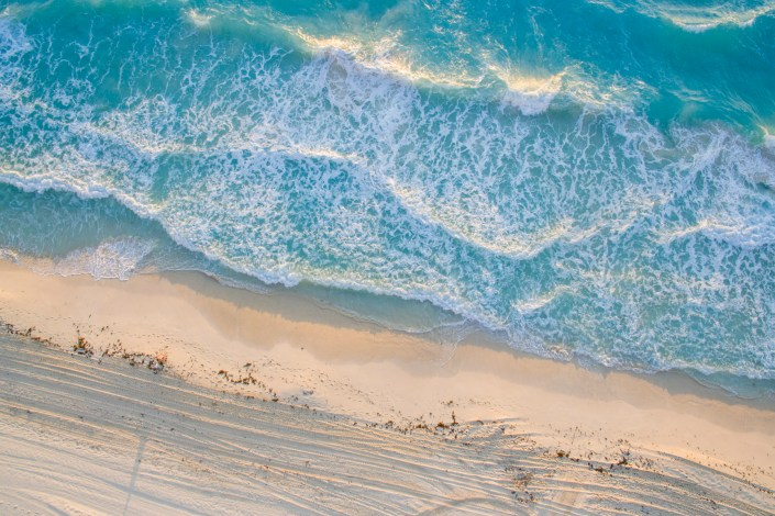 Cancun from the air, droneshot, 2019. Shot with DJI Phantom 3
