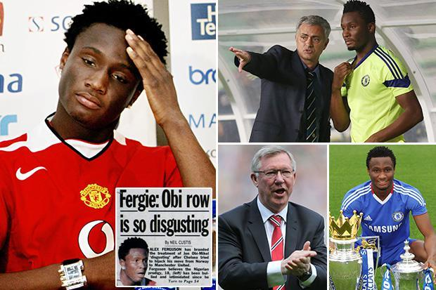 John Obi Mikel revealed Man Utd's incredible transfer fight with the Blues  for his signature as a teenager