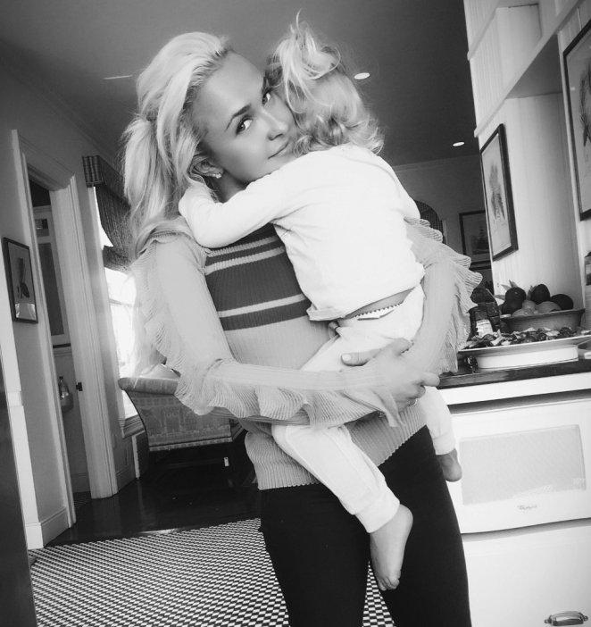 Hayden's daughter Kaya lives with her father Wladimir Klitschko