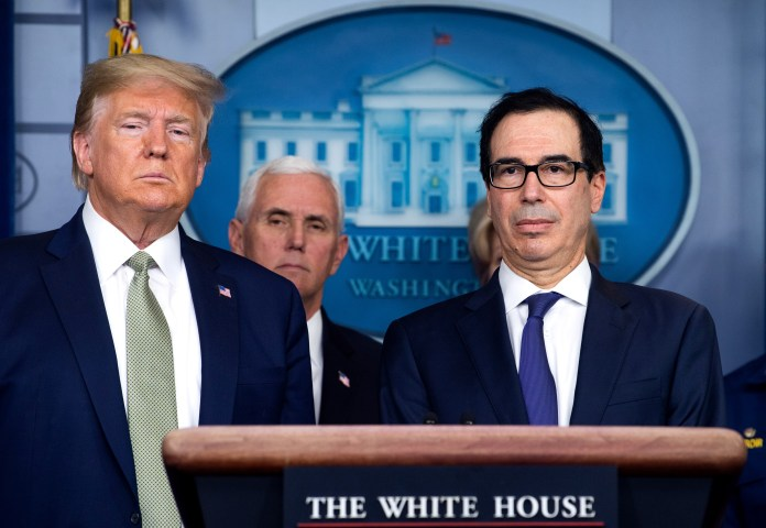 Mnuchin says Americans will get direct-deposit payments from ...