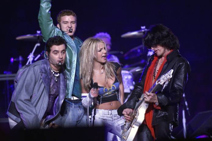 Britney started a relationship with the boy-bander NSYNC in 1999
