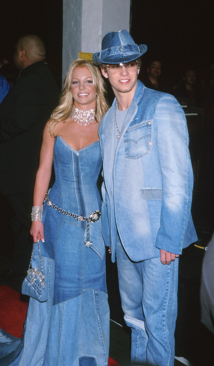 Justin and Britney are famous from 1999 to 2002