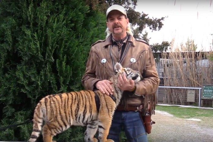 Joe kept tigers in his zoo, Greater Wynnewood Exotic Animal Park, Oklahoma