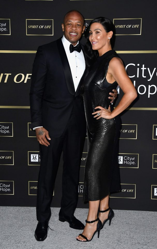 Dr. Dre's wife Nicole Young field for divorce on Monday after over two decades together