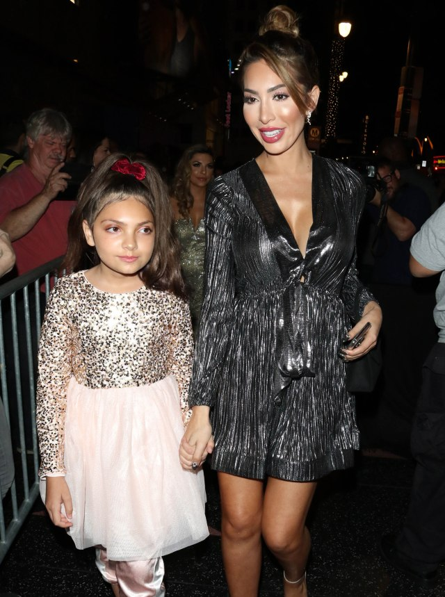 Farrah Abraham defends her decision to show a vibrator in TikTok video with her 11-year-old